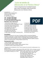 Guia de bolsillo de prevencion card español 2003