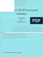 20110520-UK-Hargreaves UK IP Law Report-Summary