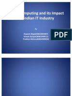 Cloud Computing and Its Impact on Indian IT