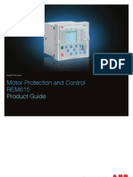 ABB Motor Protection and Control REM615 Products