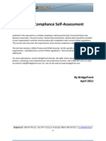 HIPAA Compliance Self Assessment