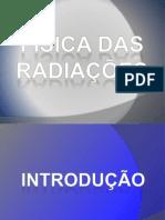 RESUMO - FÍSICA DAS RADIAÇÕES