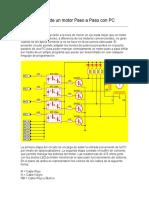 Control de Un Motor Paso a Paso Con PC