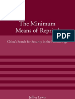 The Minimum Means of Reprisal_ China's S - Jeffrey G. Lewis