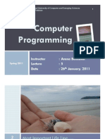 CP+Spring2011+-+Lecture+5+ Pointers+ +Strings