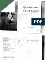Barthes- Roland Barthes by Roland Barthes