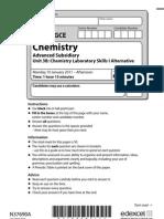 chemistry unit 3 question paper january 2011