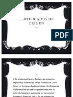 CERTIFICADOS DE ORIGEN
