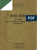Erste Hilfe - Dr. med. Franz Friedrich - 1939