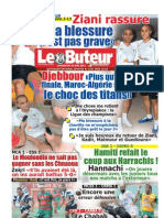 LE BUTEUR PDF du 22/05/2011