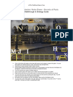Hidden Mysteries - Notre Dame - Secrets of Paris - Walk Through & Strategy Guide - wWw.fishBoneGames