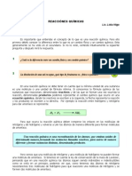 8.a Reacciones Quimicas