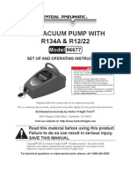 Ac Air Vacume Pump