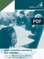 Workforce Planning in Local Authorities