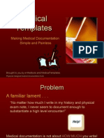 MedicalTemplates  Making Medical Documentation Simple and Painless