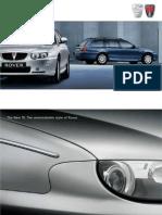 Rover Gb en 75 Brochure