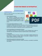 ANALIS DE LOS RECURSOS DIDÁCTICOS MULTIMEDIA