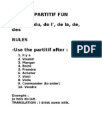 Paritif Rules French