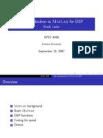 Matlab DSP
