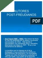 AUTORES Post Freudianos
