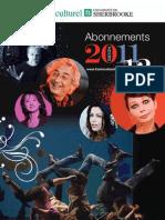 Saison Centre Culturel 2011-2012