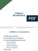 5.Chap5 Deadlock