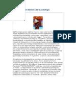 Contextualización histórica de la psicología