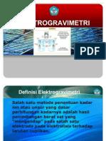 pp elektrogravimetri