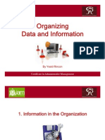 Organizing Data & Information 04