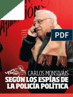 Carlos Monsiváis según la DFS