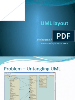 UML Graph Layout - Andy Talk - March 2011