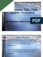 Time_ TQC_ TQM_ Quality Assu