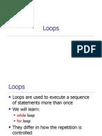 Cs111 Matlab Loops