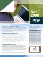 Gobi2000 Overview