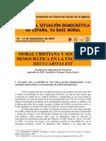Moral-cristiana y Sociedad Democratic A