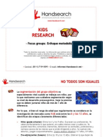 Kids Research - Hand Search - 2011