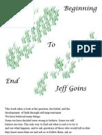 Jeff Goins - Beginning to End