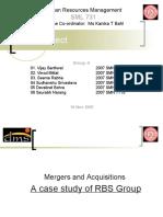 HRM Term Project M&a RBS 131107 r1