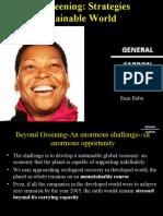 Beyond Greening