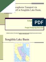 Chennai Modeling Phosphorus Transport via Surface Runoff