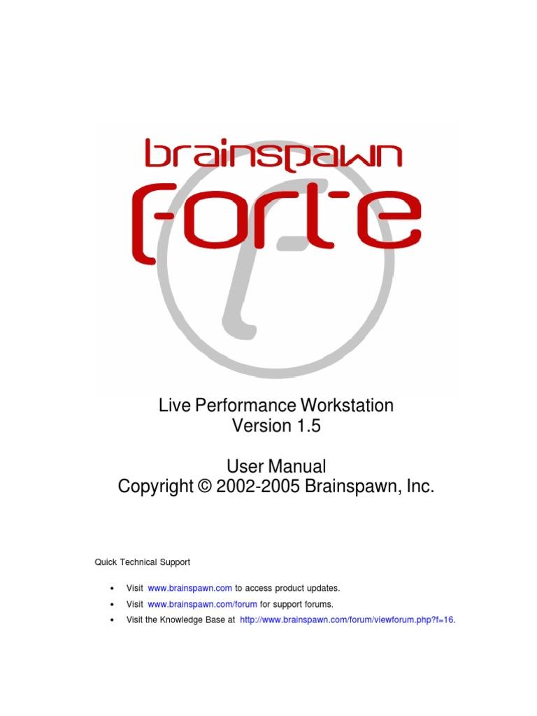 Brainspawn UserManual   Microsoft Windows   Command Line