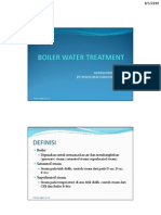 Boiler Water Treatment Program