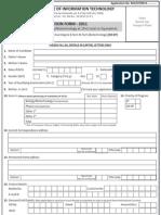 Application Form Jiit