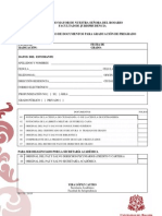lista documentos grado
