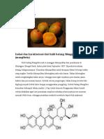 Isolasi Dan Karakterisasi Dari Kulit Batang Mangifera Indica Mangiferin
