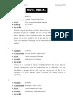 RESEÑAS DE DANZAS REPRESENTATIVAS REINADO