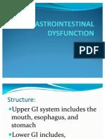 Gastrointestinal Dysfunction