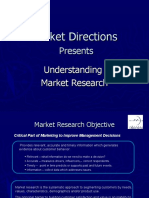Market Research Objective