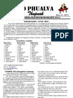 Zo Phualva Journal Vol 1, Issue 5 2011