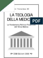 Thomas Szasz — La Teologia Della Medicina (Ed. 3)